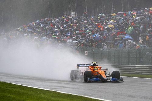 """PÓDIO: Tudo sobre o """"não-GP da Bélgica"""" com Verstappen vencedor na chuva"""