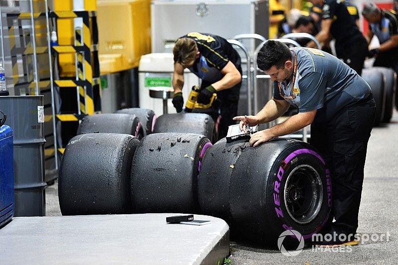 Los pilotos de F1 discuten en Brasil sus preocupaciones sobre los neumáticos