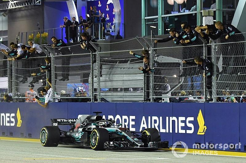 Los mensajes de radio más destacados del GP de Singapur
