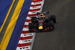 """Ricciardo klaagt over afstelling: """"Verloren beetje grip"""""""