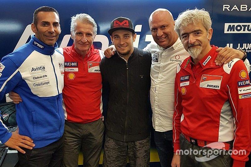 Abraham assina com a Avintia Ducati por dois anos