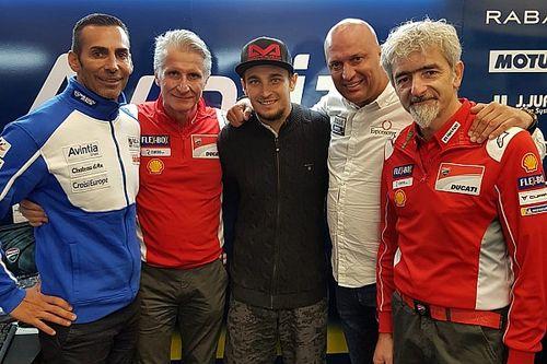 Abraham firma por dos años con Avintia Ducati