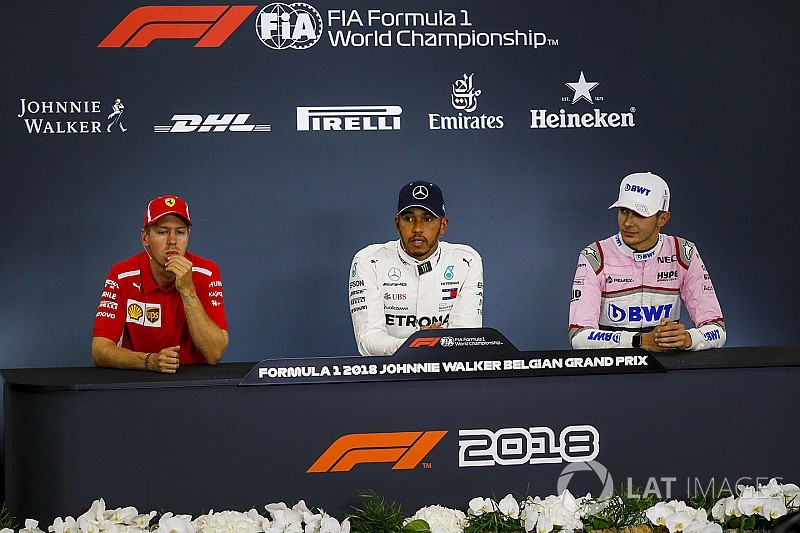 Belgian GP: Post-qualifying press conference