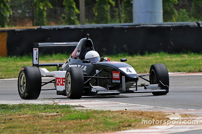 Chennai MRF F1600: Parekh scores emphatic Race 2 win
