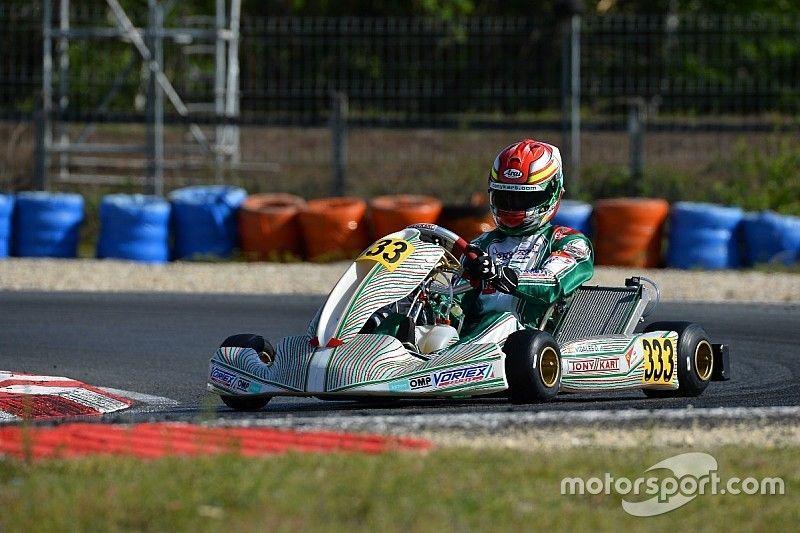 Vidales acaba en el top 10 la ultima cita del Europeo de KZ2