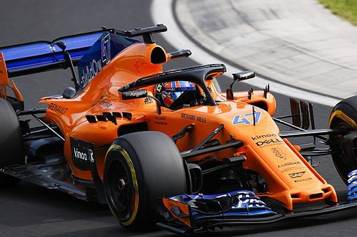 Norris to make FP1 debut with McLaren at Spa