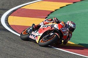 Aragon MotoGP: Marquez leads Lorenzo in FP2