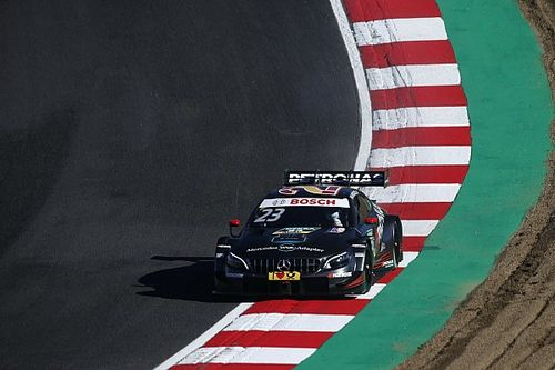 Brands Hatch DTM: Juncadella leads all-Mercedes front row