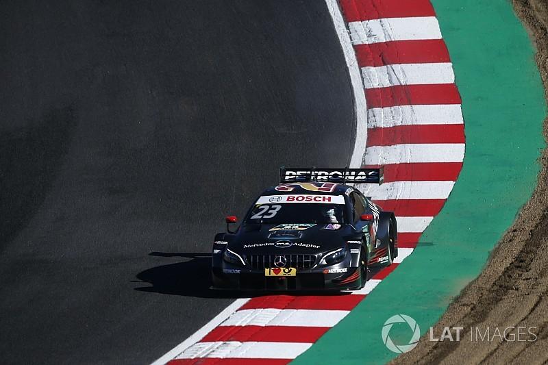 DTM Brands Hatch: Pole Juncadella, Frijns baalt van gele vlag