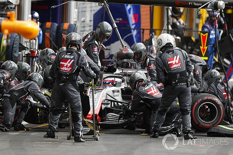 Grosjean sugere reabastecimento e guerra de pneus à F1