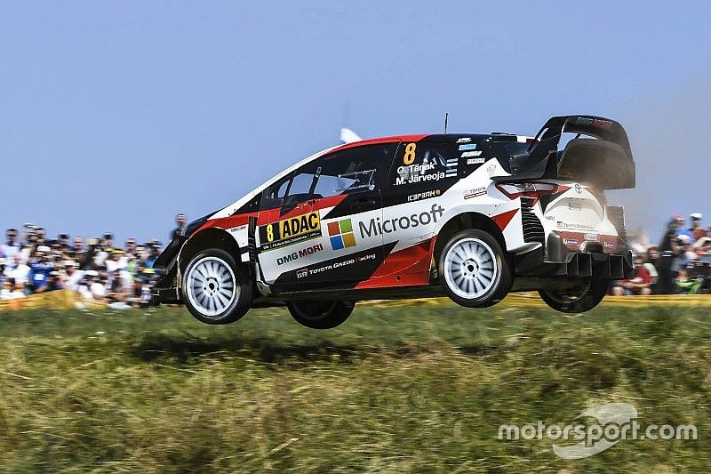 Germany WRC: Tanak takes 44-second lead into final day