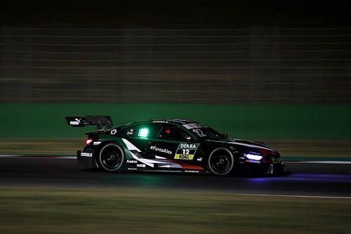 Sicherheit geht vor: So lenkt Zanardi das DTM-Auto