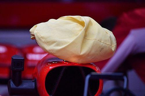 Ferrari: risolto il... giallo, il panno serve a coprire il volante dalla camera car