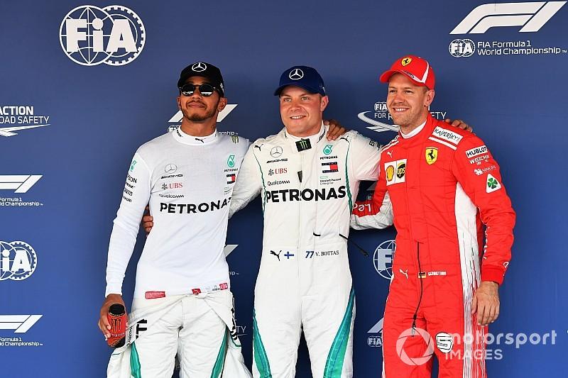 Rusya GP: Bottas, 2018'deki ikinci pole pozisyonunu aldı!