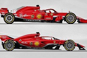 F1 2018 Vs. 2021: animáción a különbségek