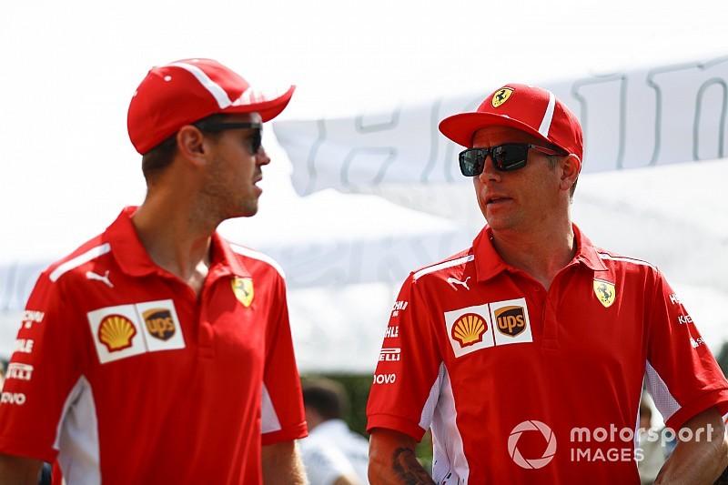 """Vettel: """"Traurig"""" über Verlust von Teamkollege Räikkönen"""