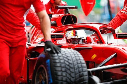 Formel 1 Monza 2018: Technische Probleme bei Sebastian Vettel