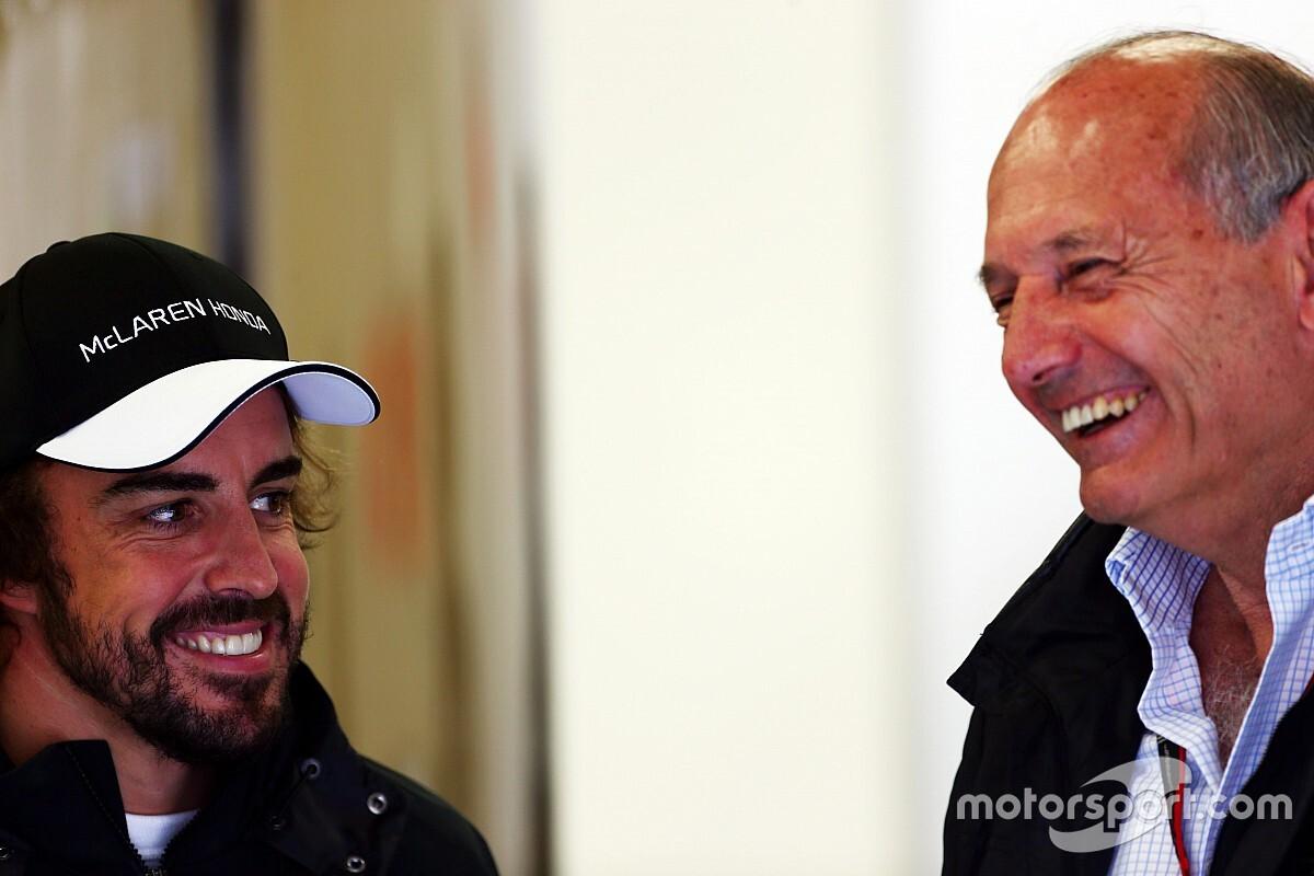 Ron Dennis csak mosolyog Alonso egykori kijelentésén
