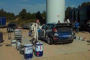 M-Sport prova un nuovo diffusore per il Rally del Messico?