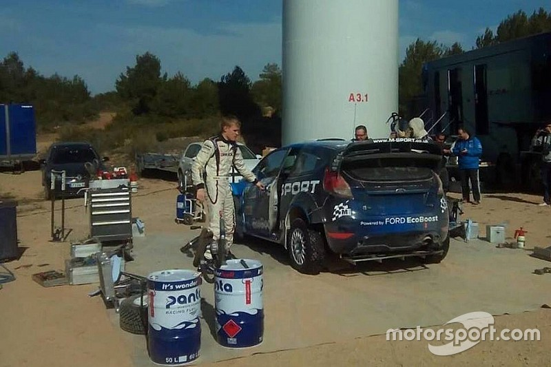 M-Sport испытала новый диффузор для Fiesta WRC