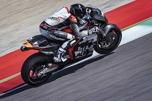 Luthi gets first KTM MotoGP test outing