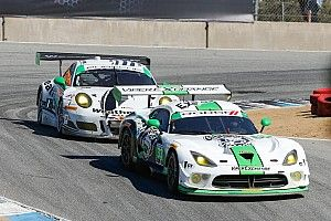 Perfect pit stop propels No. 33 Dodge Viper GT3-R to sixth-place finish at Laguna Seca