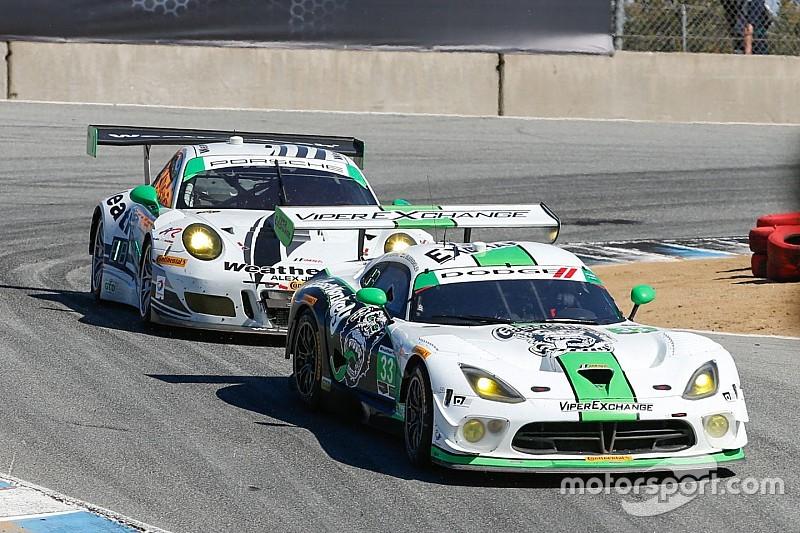 Perfect pit stop propels No. 33 Dodge Viper GT3-R to sixth-place finish at Laguna Seca