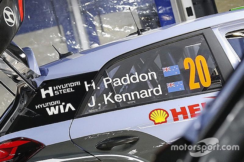 WRC: Paddon ha scelto il numero 20 per tornare a correre nel Mondiale con M-Sport