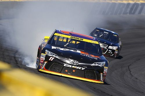 "Angry Hamlin close to Chase exit after ""everything went wrong"" in Kansas"