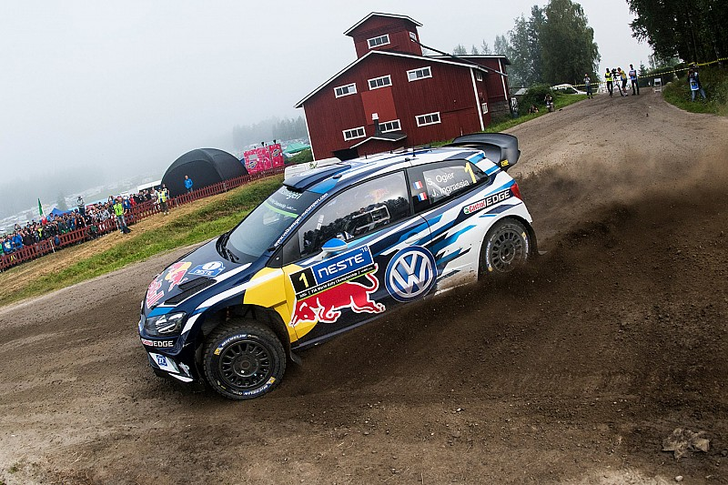 "Ogier blames running order rules for ""stupid"" Finland error"