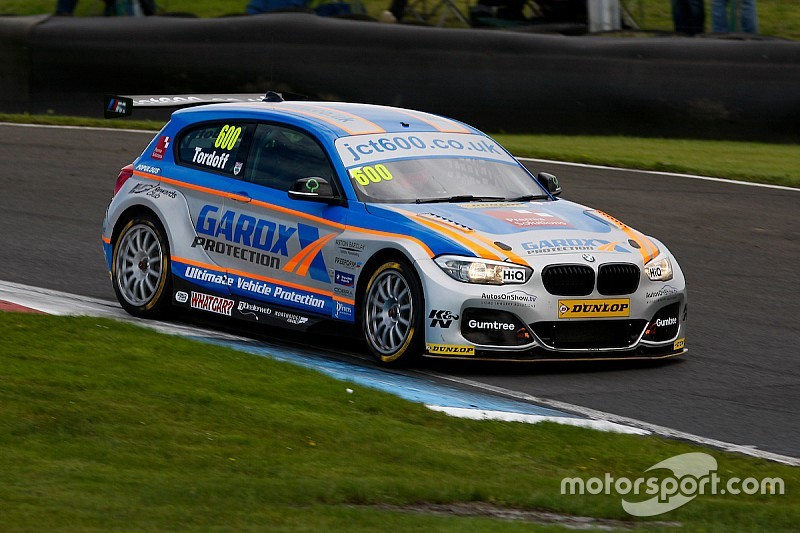 Rockingham BTCC: Tordoff comes from 10th to win Race 2