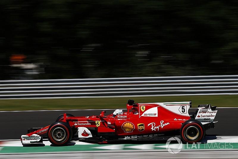 """Vettel: """"Pole position frutto del duro lavoro Ferrari"""""""