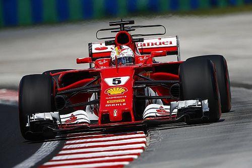 Ferrari reage e Vettel lidera último treino livre na Hungria
