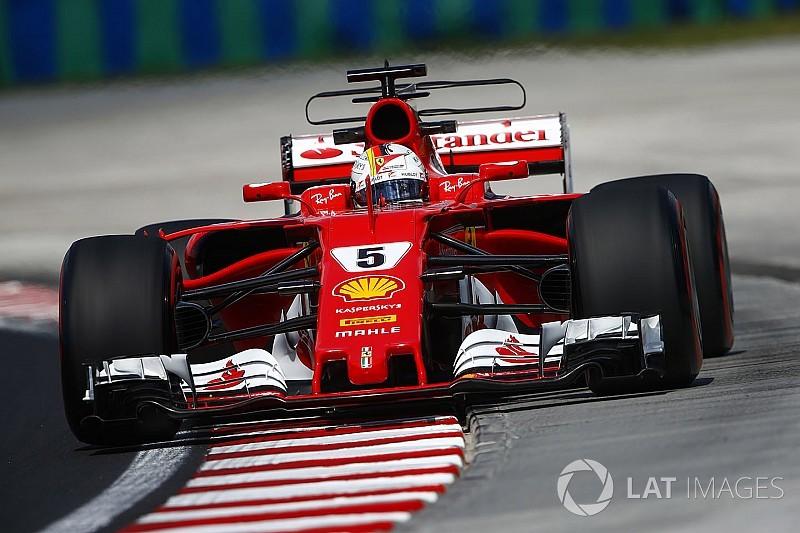 GP d'Ungheria: prima fila Ferrari con Vettel in pole position!