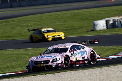 DTM Lausitzring: Auer troeft Wickens af in tweede training