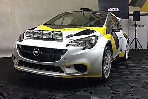 ERC Ultime notizie Presentata la nuovissima HOLZER Corsa R5