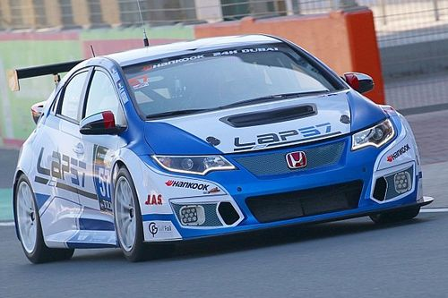 Files e Al Owais sulle Honda della Lap57 ad Abu Dhabi