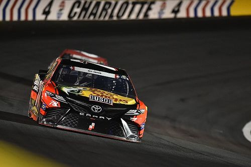 NASCAR race rewind from Charlotte Motor Speedway