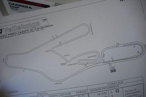 Carrera Cup italia, alla scoperta di Vallelunga con Rovera