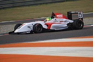 Buddh MRF Challenge: Schumacher doubles up as Mawson fights off Newey