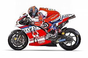 MotoGP Breaking news Pramac Ducati reveals 2017 MotoGP livery