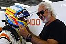 Briatore: Alonso umarım 2018'de podyuma çıkabilir