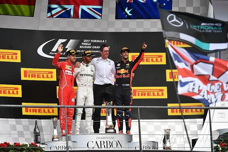 Lewis Hamilton resiste el ataque de Vettel para triunfar en Bélgica