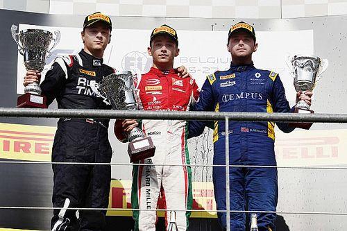 Leclerc regresa a la victoria en Spa-Francorchamps