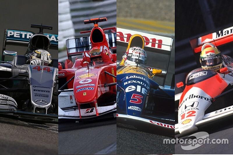 GALERÍA: los autos con más victorias en la historia de la F1