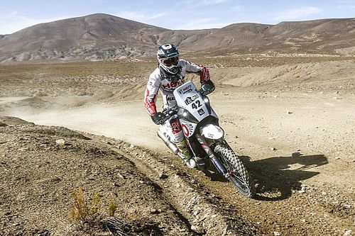 Dakar 2017, Stage 4: Santosh recovers, TVS Sherco's Metge makes progress