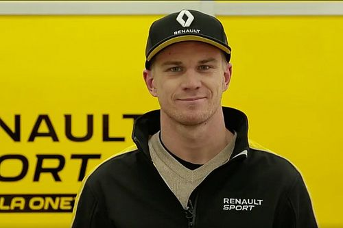 La prima volta di Hulkenberg con i colori Renault Sport F.1