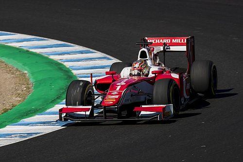 لوكلير يصدّ هجمات رولاند ليفوز بسباق خيريز ويُحرز لقب الفورمولا 2