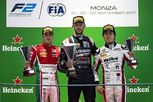 Monza F2: Ghiotto wins after last-lap de Vries/Leclerc clash