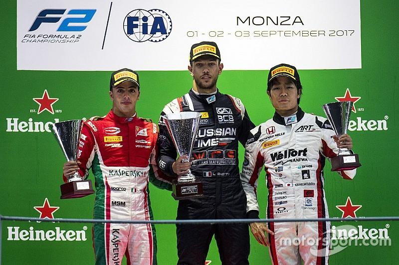 فورمولا 2: تجريد غيوتو من الفوز بسباق مونزا الرئيسي